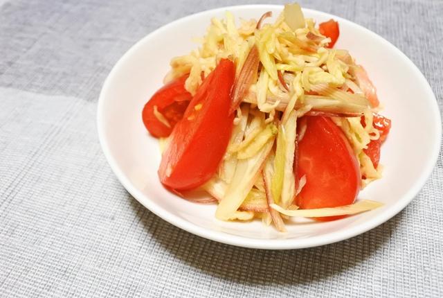 トマト切り干しサラダ