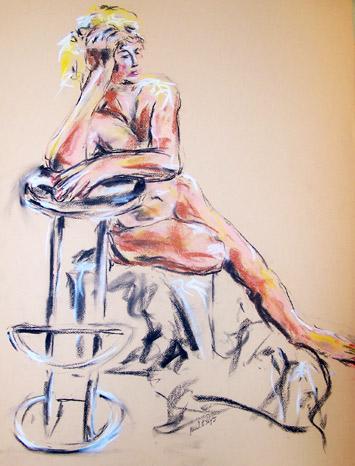 Nude - Mitchell McIntyre