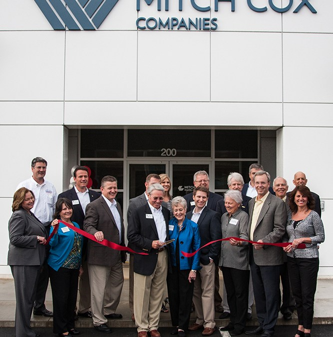 Mitch Cox Companies and Universal Companies Host Business After Hours; Ribbon Cutting