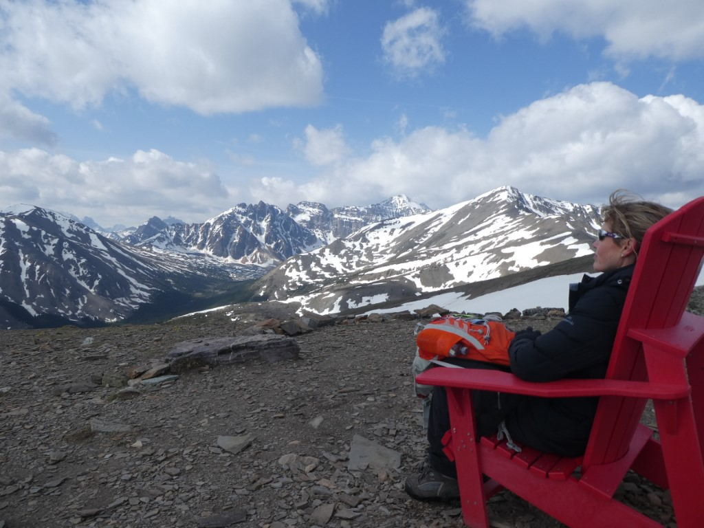 Top of Mountain at Jasper