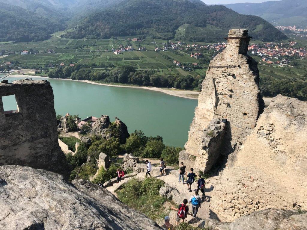 Path to Burgruine Durnstein