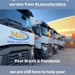 Sustainable, Reliable, Professional UK pallet distribution post Brexit & Pandemic @MSD (read more)