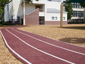 New Running Track