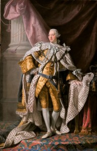 Painting of King George III