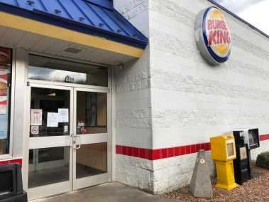Exterior of Burger King