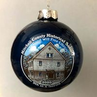 Photo of the Good Will Free Library Christmas Ornament