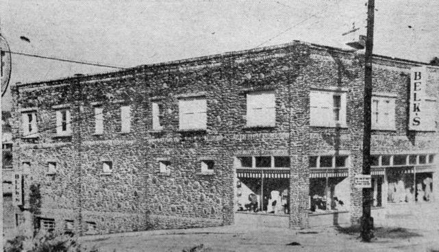 Spruce Pine's Gunter Building