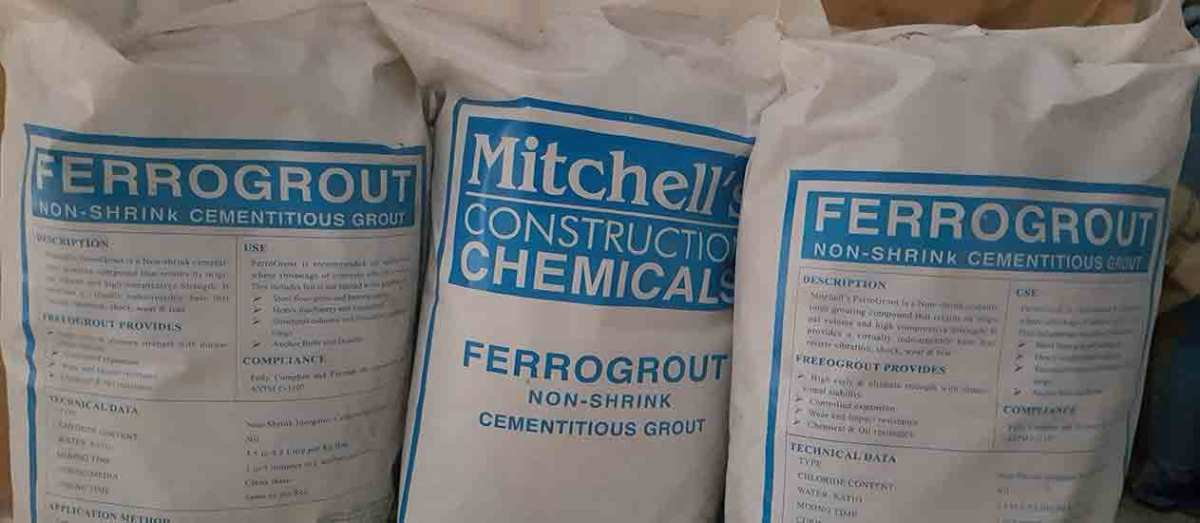 Mitchell Construction Chemicals, Top ten building materials company Pak