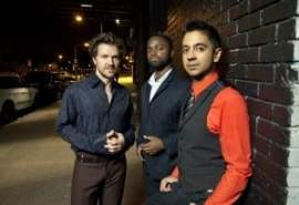 Vijay Iyer Trio. Photo by Jimmy Katz