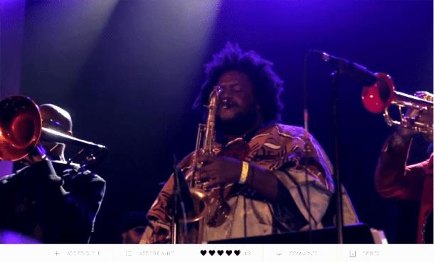 """""""Kamasi Washington: The Rhythm Changes,"""" a Film by B+"""