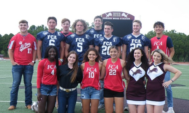 BROWNWOOD FCA HONORS STUDENTS, COACHES