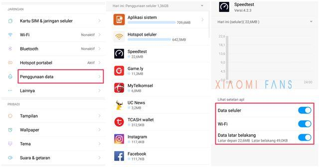 Cara Membatasi Penggunaan Data di Xiaomi