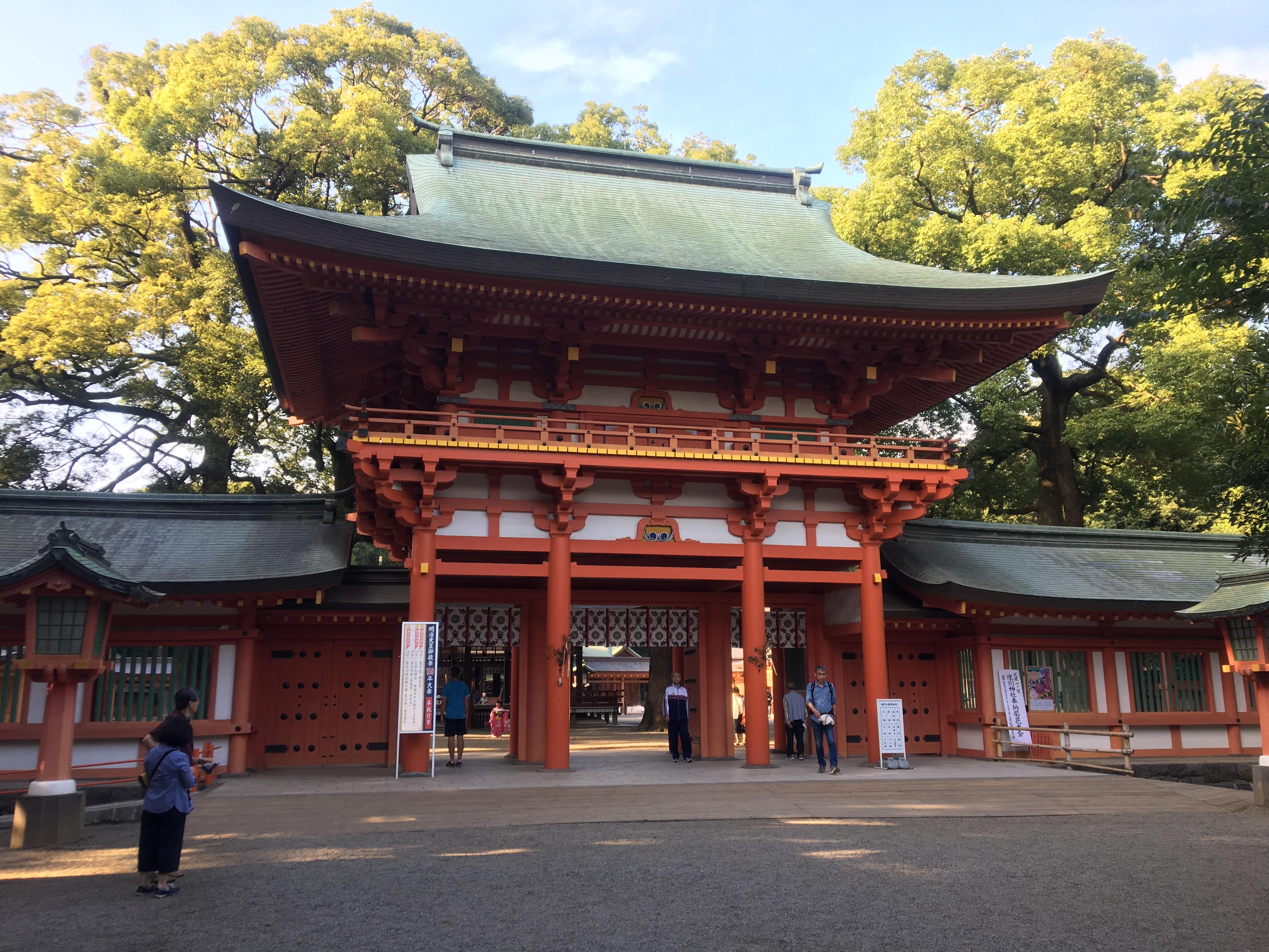 明治天皇行幸150周年 大宮・氷川神社について簡単にまとめてみた