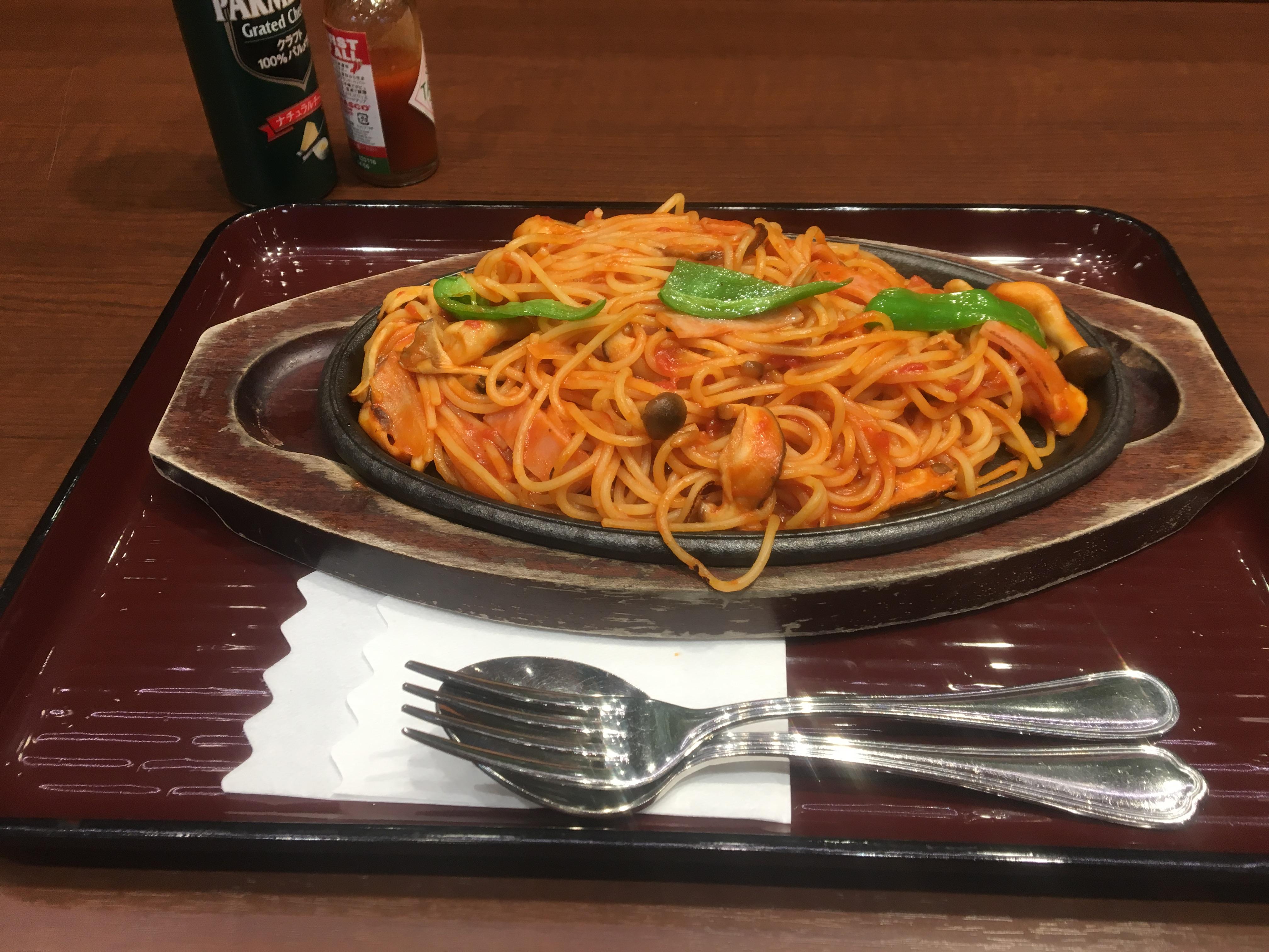 デパートのレストランでナポリタン!大宮タカシマヤ・レストランローズ