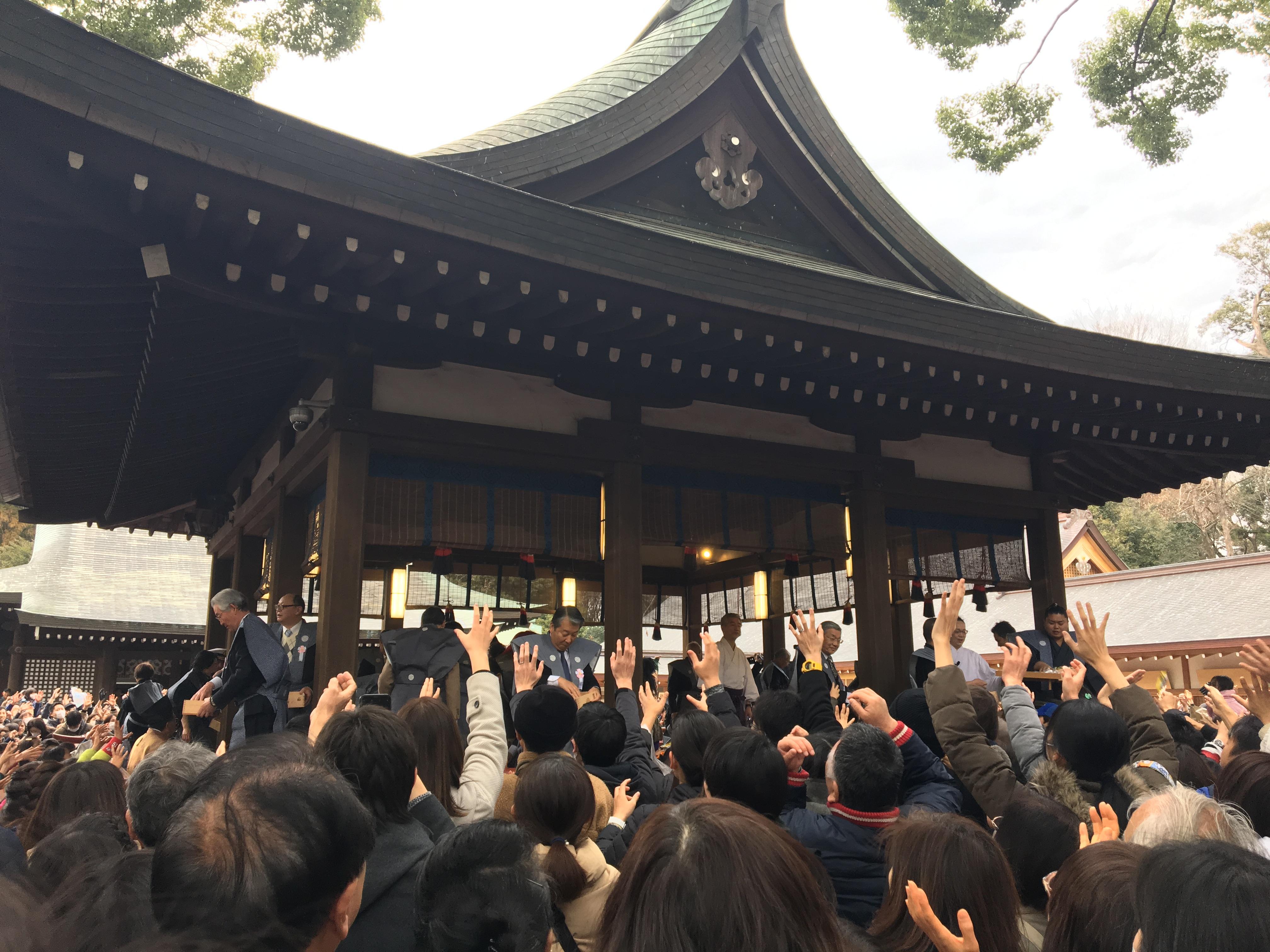 邪鬼を祓い無病息災 2019年武蔵一宮氷川神社節分祭開催