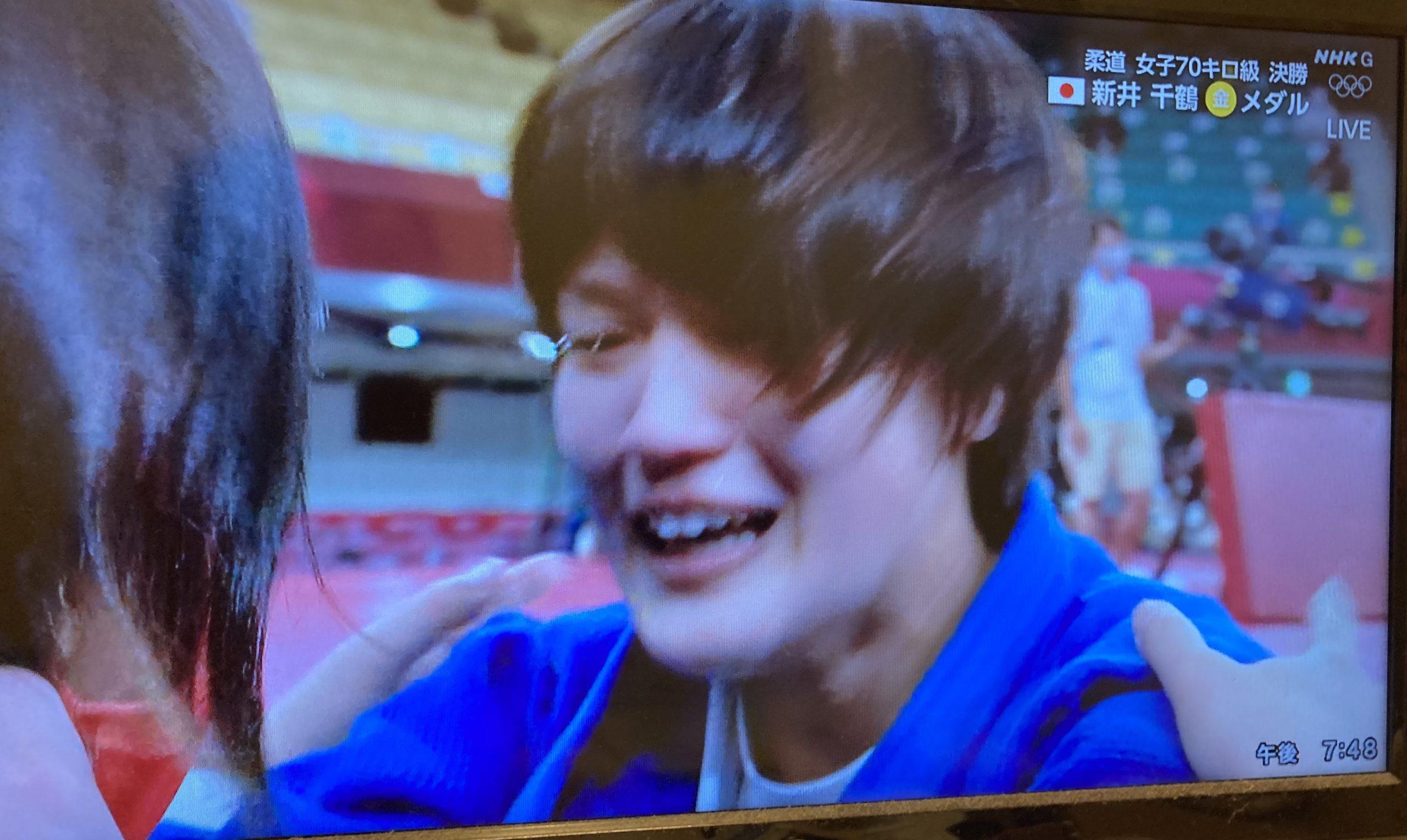 県出身者では初!新井千鶴選手が柔道女子70kg級で金メダル