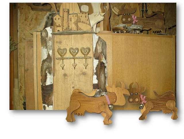 Herstellerwerkstatt Almkuh mit Glocke