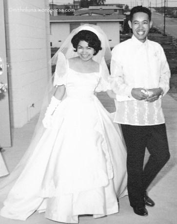 Wedding Day - August 28, 1961