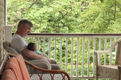 My husband and his little grandson