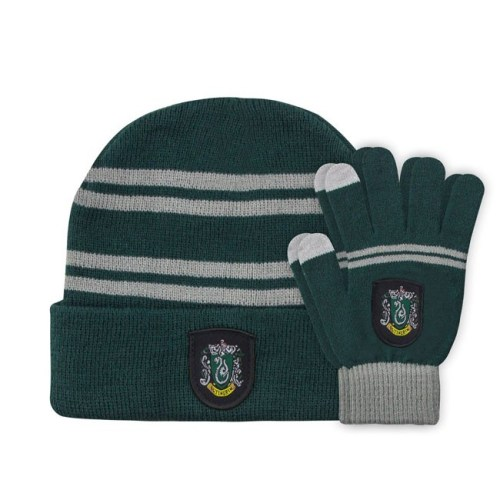 Cappello e Guanti Serpeverde Harry Potter