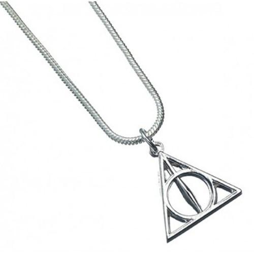 Collana con pendente Doni della Morte Harry Potter