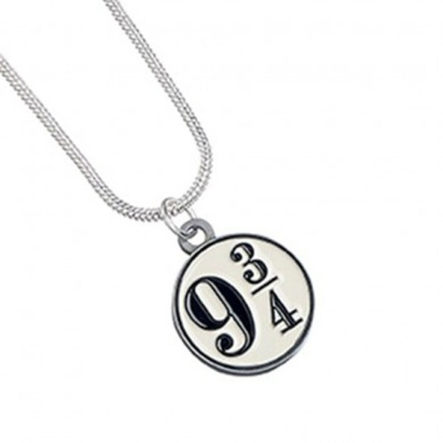 Collana con pendente Platform 934 Harry Potter
