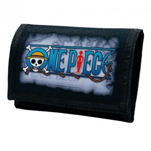 Portafoglio in tela di One Piece