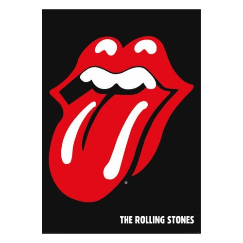 poster rolling stones logo
