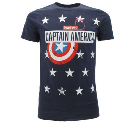 T-Shirt Capitan America Logo