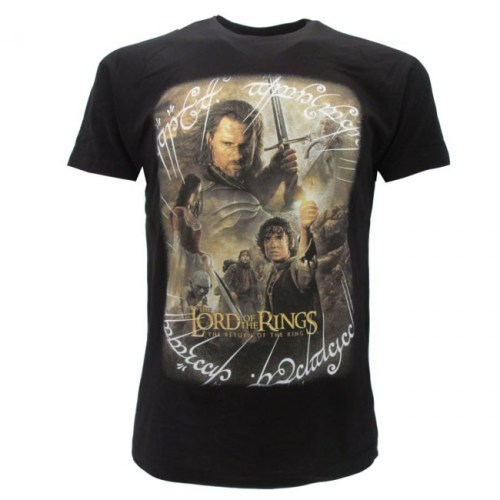 T-Shirt Lord of the ring personaggi