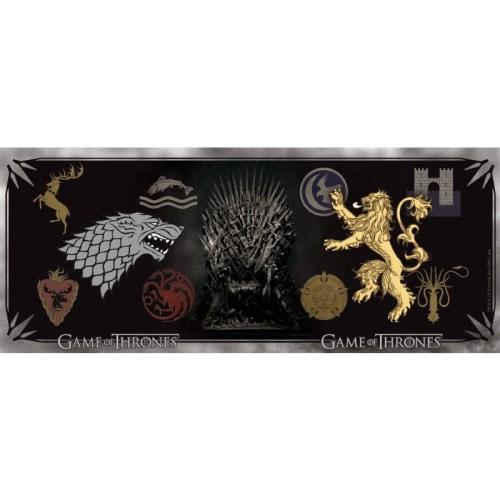 Tazza Game of Thrones Stemmi Casate dettaglio