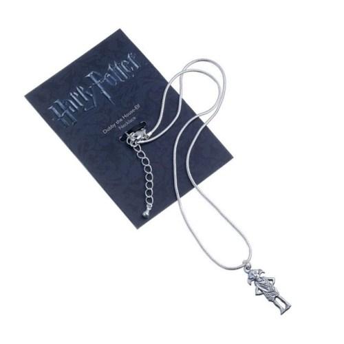 Collana con pendente Dobby Harry Potter confezione