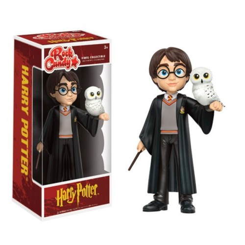 Funko Rock Candy Harry Potter con Edvige Harry Potter
