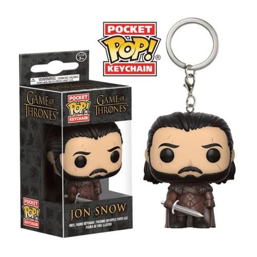 Portachiavi Funko Poket Jon Snow Game of Thrones