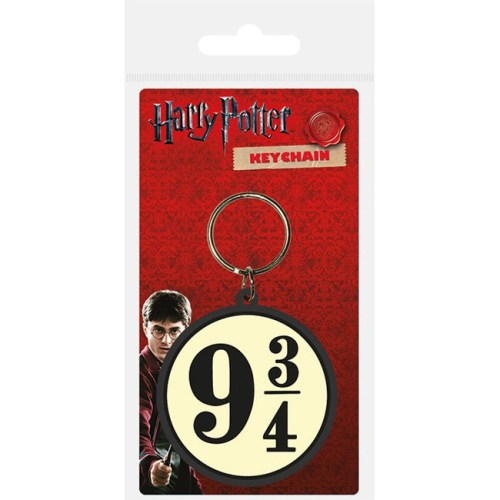 Portachiavi Hogwarts Express Platform 934 Harry Potter in gomma