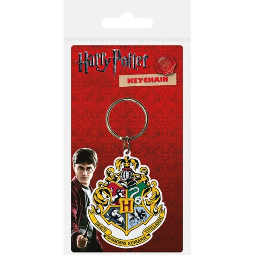Portachiavi Hogwarts Harry Potter in gomma