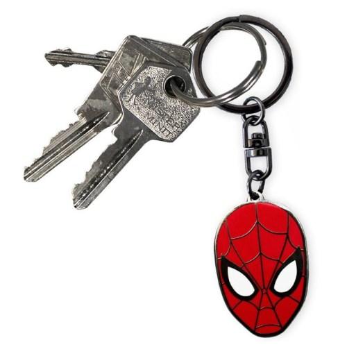 Portachiavi Marvel Spider Man dettaglio chiavi