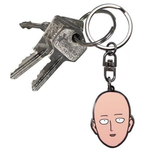 Portachiavi One Punch Man Saitama dettaglio chiavi