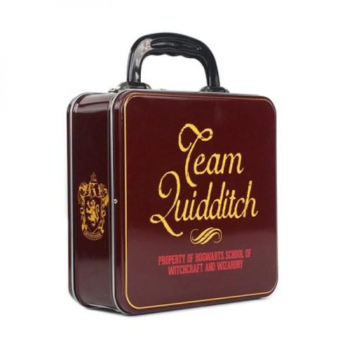 scatola di latta quidditch captain harry potter dettaglio retro