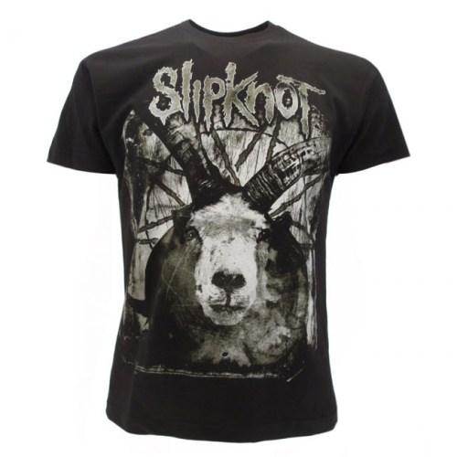 t-shirt Slipknot doppia stampa