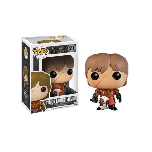 funko pop Tyrion Lannister in battle armor Game of Thrones 21