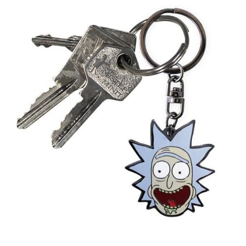 portachiavi rick rick and morty dettaglio chiavi