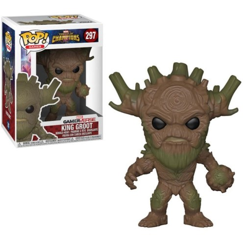 funko pop king groot marvel 297
