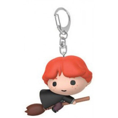 Portachiavi Chibi Ron Weasley con scopa
