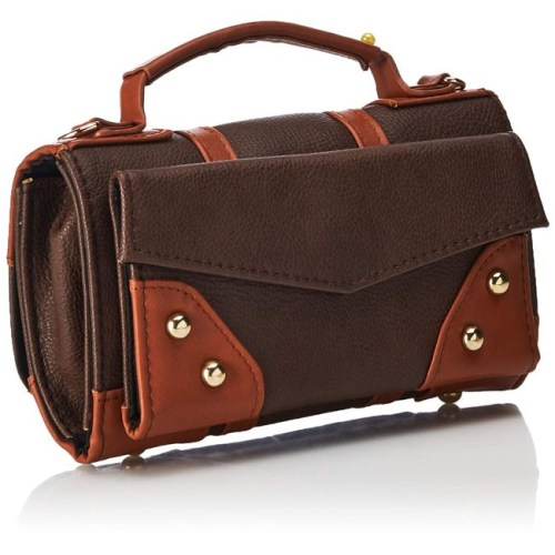 borsetta con tracolla effetto pelle con toppe harry potter retro