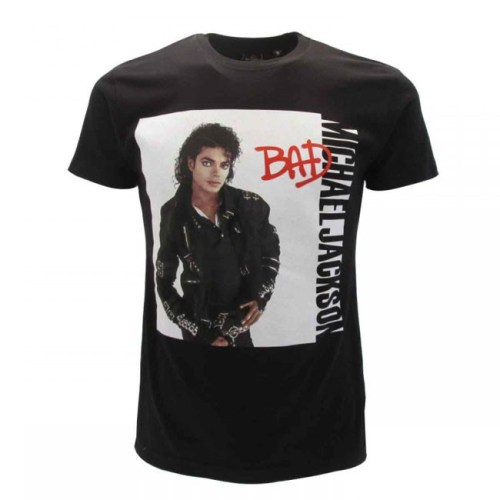 T-shirt Michael Jackson Bad