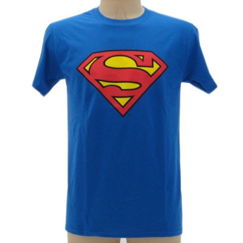 t-shirt Superman logo Dc Comics