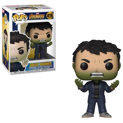 Funko Pop Bruce Banner Hulk Marvel 419