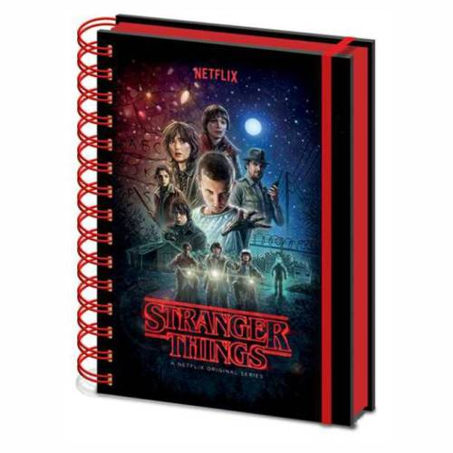 Notebook Stranger Things 2