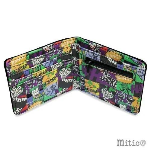 Portafoglio Joker Dc Comics dettaglio interno